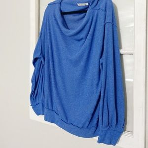 Free People Sweaters - Free People Blue Sweater